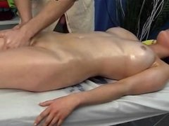 brunette in oil fuck hard and finish on the face