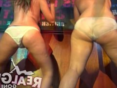 teen girls strip naked for a sexy wet tshirt contest