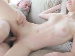 Big tits model home sex
