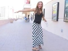 Lovely Mary Wants To Touch Herself In Public And Get Shamelessly Naked