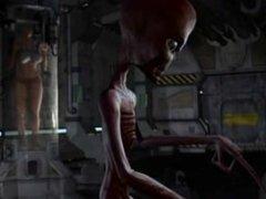 Alien fuck human