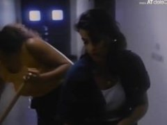 Rae Dawn Chong and Annabella Sciorra in Prison Stories Women on the Inside