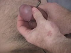Hot twink scene Mark started to pre-cum as I was vibrating him with the