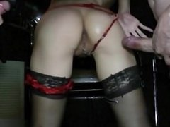 18 years old exgf riding cock
