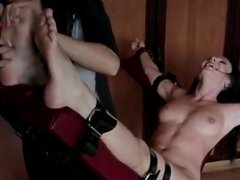 helpless naked tickle torture