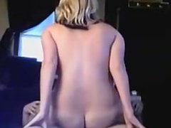 Big Tit Blonde Rides Her Friend