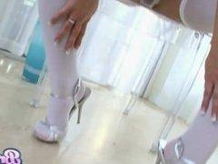 Bree Olson High Heels Pussy Insertions