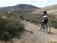 natalia coxxx fucks a guy in desert