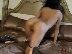 Asian strip dance 1