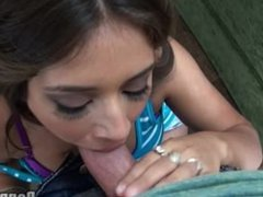 Jynx Maze Reluctantly Sucks Cock