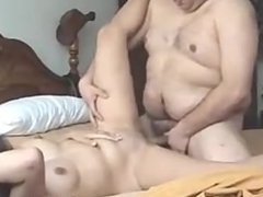Horny womem Amatuer Hard Sex with fat man part 2