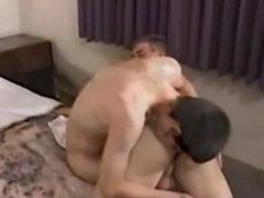 Spanked and ass fucked