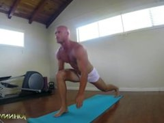 Horny For Yoga, Solo with Johnny Sins
