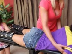 Danica Meet Mia - F/F, FF/F, Hot Blonde Milf Is Loving This!