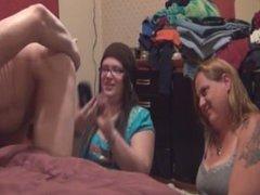 curious cfnm girls watch