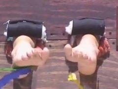 Cali Bikini Babes 1 - FFF/F, Summer and Viviana's Ticklish Feet Attacked!