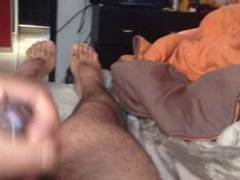 Maturbating male hot