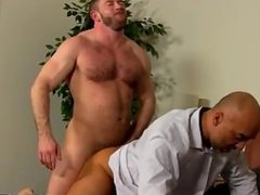 Gay movie After a day at the office, Brian is need of some daddy dick,