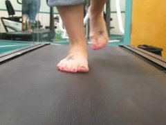 Goddess Elizabeth The Treadmill