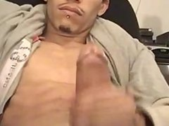 Rican Papi Cums A Tad Infront of the Camera