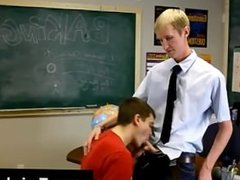 Gay orgy Ace Sterling stands at the front of the classroom attempting to
