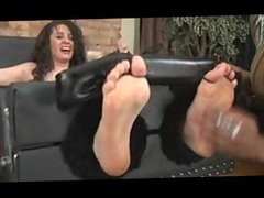 TA- Lilly Toetied and Topless