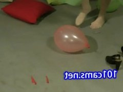 Lisa popping balloons  Teens from www.camz.biz' **** best ultimate