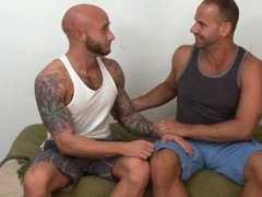 Big Dick Hunks Shoot their Huge Loads