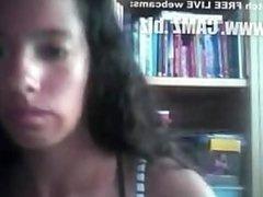 Ebony spanish playing hairy pussy on cam - by GranDBastard Hairy