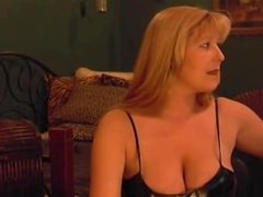 Mature Lovely Lady Solo Smoking and Is So Erotic