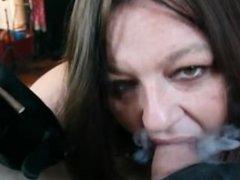 Smoking more BJ