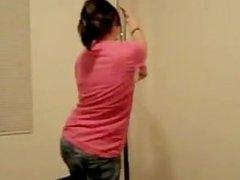 Stripper Audition -- Pole Dance