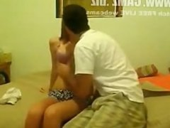 Amateur Couple Fucking On Webcam.