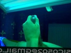 A moment at the tanning bed