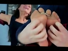 Tied Toes Tickled in Nylon Harem