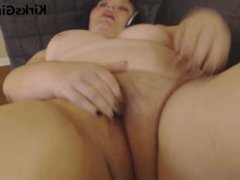 Fat Girl Fingering Herself Durring Phone Sex