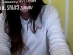 Nena colombiana muestra el pezon y la cola por cam-Webcams from  camz.biz