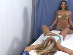 Tickling Her Girlfriend - F/F, Veronika Gets It This Time!