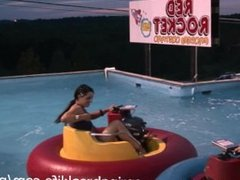 topless bumper boats