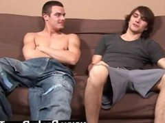Gay clip of Both studs immediately began splattering at each other, Rocco