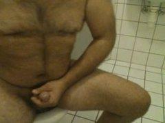 cum in public toilet