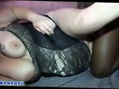 fatty fucked by black dude