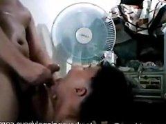 Pinoy Gay Blowjob Cum eater