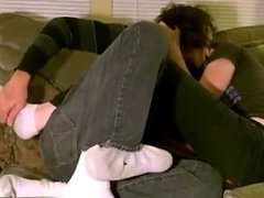 Hot gay Tristan has clearly been in enjoy with feet ever since a close
