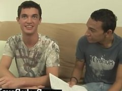 Twink sex Brendan was deep-throating cock like a pro throating on the