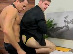 Gay orgy Jason's rock-hard rod and flapping balls are promptly out for