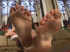 Amanda's dirty feet FCC