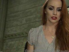 Hot TS Dominates Bella Rossi's Pussy