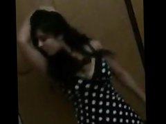 indian gf dancing