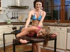 Sexy Elisa is Tickled and Tortured